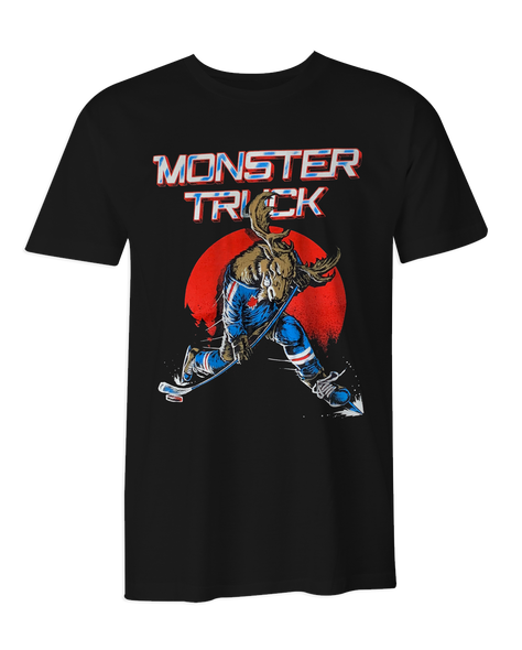 Monster Truck Blades of Steel T-Shirt