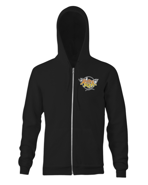 Monster Truck Brown EP Zip-Up Hoodie