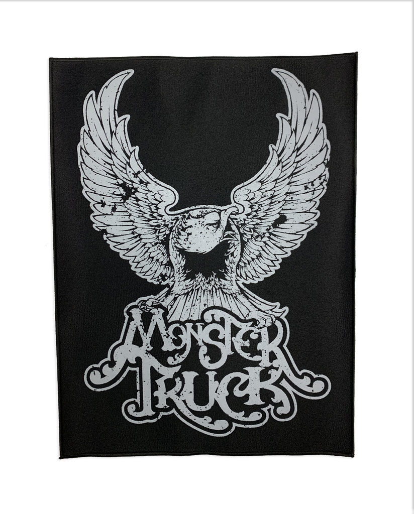 Monster Truck Eagle Back Patch