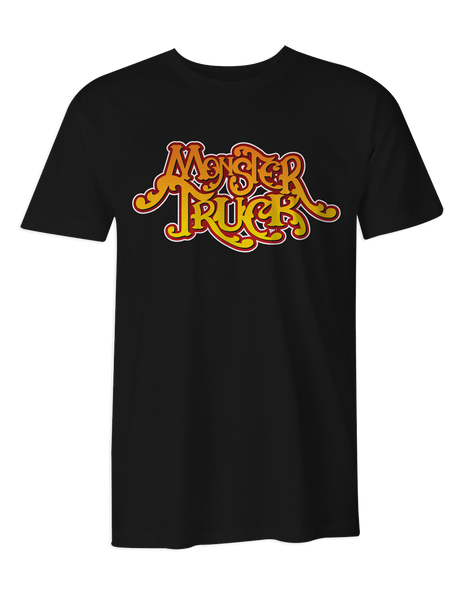 Monster Truck Gradient Logo T-Shirt