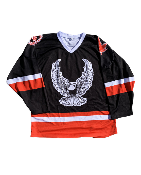 Monster Truck Eagle Hockey Jersey