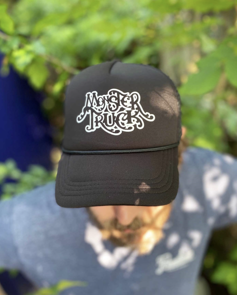 Monster Truck Logo Trucker Hat