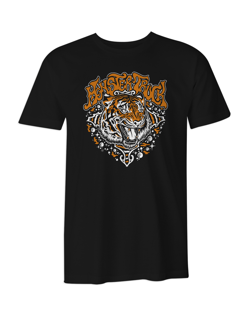 Monster Truck Tiger T-Shirt