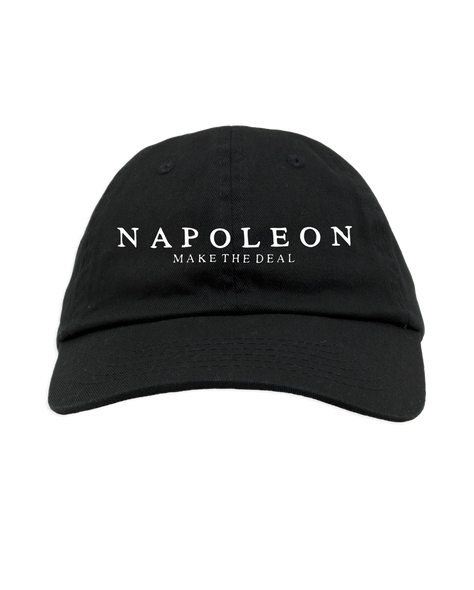 Napoleon Make The Deal Dad Hat (Black)
