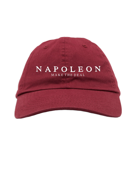 Napoleon Make The Deal Dad Hat (Maroon)