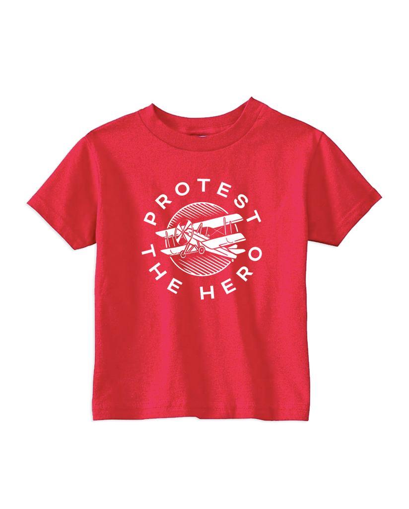 Cut Loose Kids -  Protest The Hero Plane Red Toddler Tee