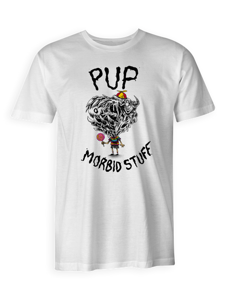 PUP Lollipop White Tee