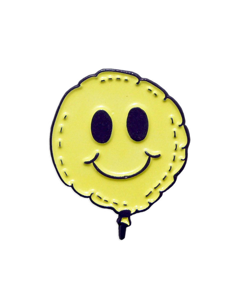 PUP Smiley Pin