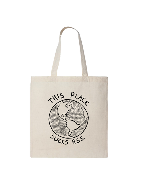 PUP This Tote Sucks Ass Tote Bag