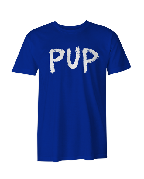 PUP White Logo T-Shirt
