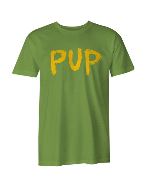 PUP Yellow Logo T-Shirt
