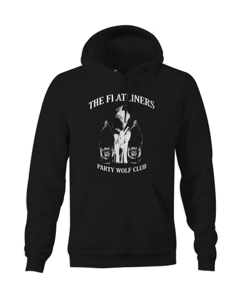 The Flatliners Party Wolf Club Pullover Hoodie