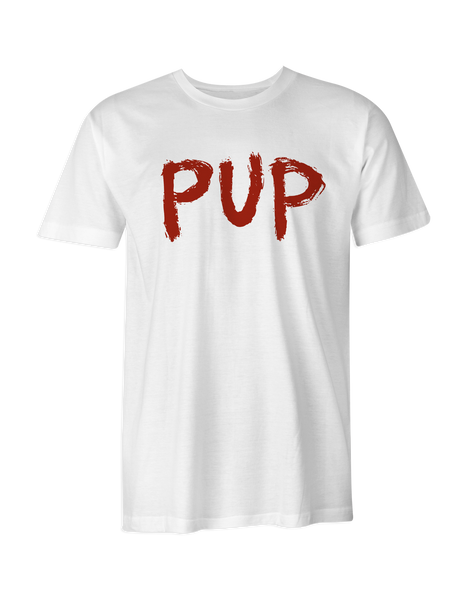 PUP Red Logo T-Shirt