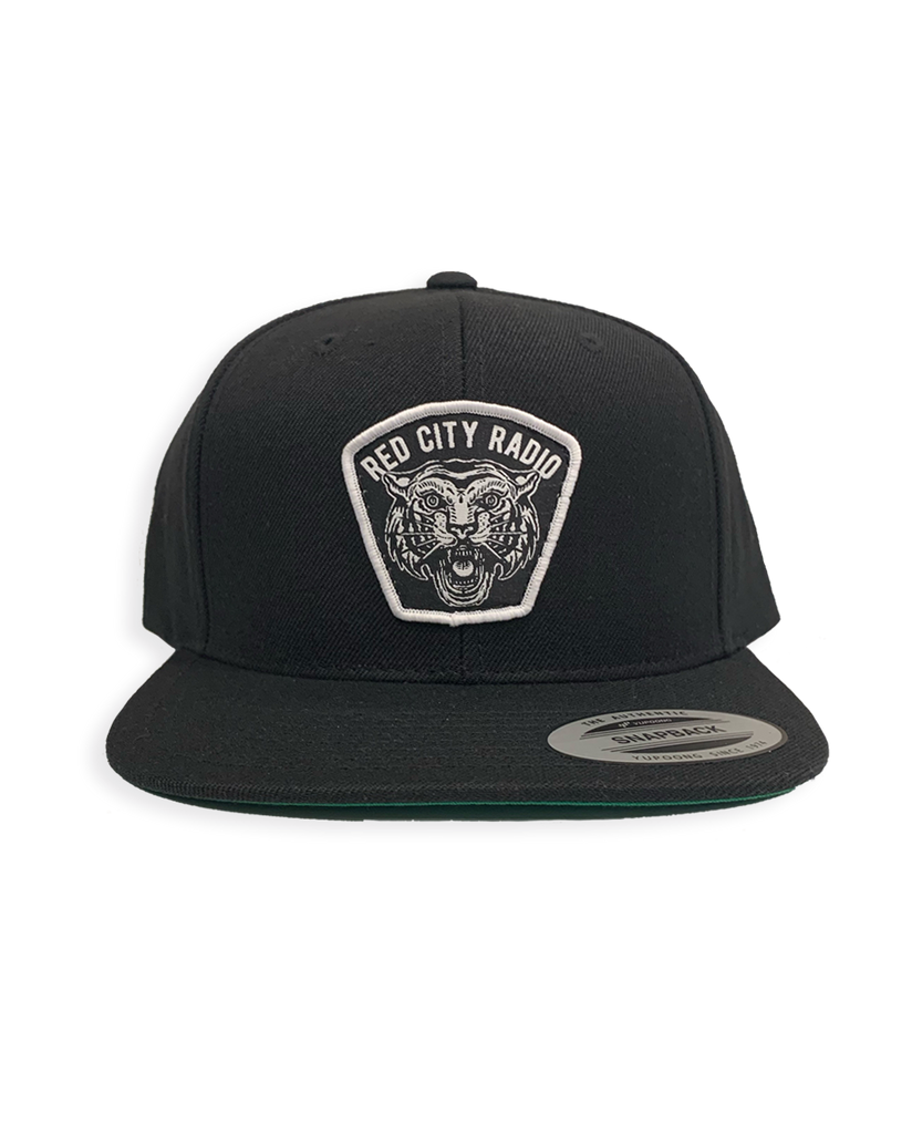 Red City Radio Tiger Snapback (Black)