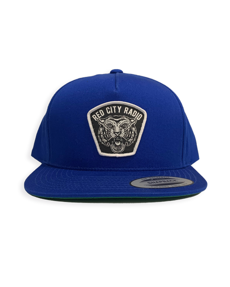 Red City Radio Tiger Snapback (Toronto Blue)
