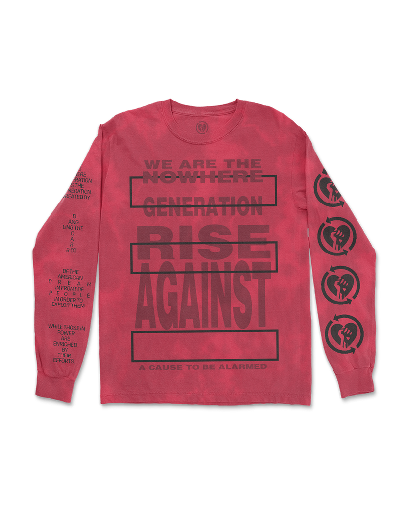 Rise Against Nowhere Generation Longsleeve