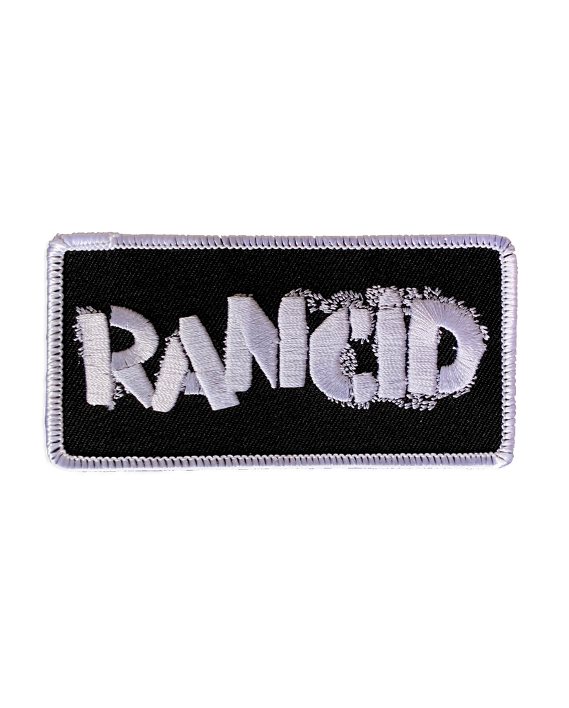 Rancid Stencil Logo Patch