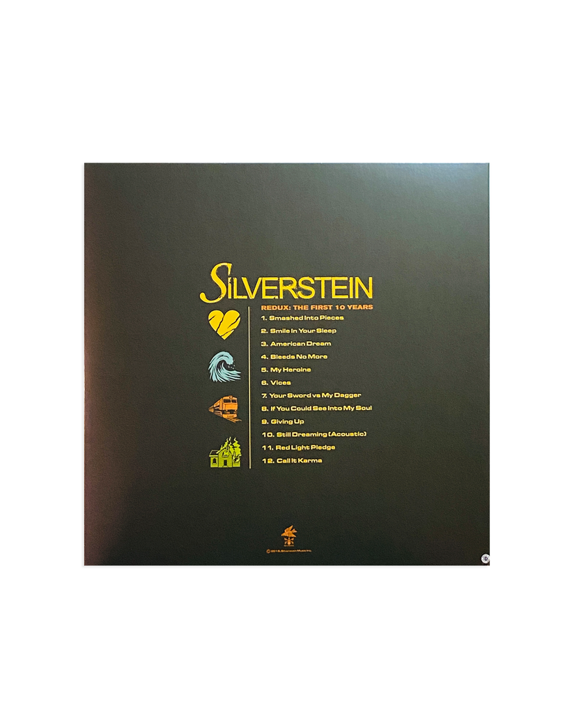 Silverstein Redux: The First Ten Years LP - Go Train Variant