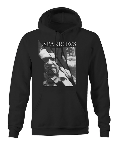 Sparrows Portrait Pullover Hoodie