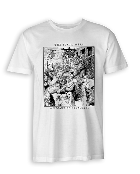 The Flatliners Cavalcade Album Cover T-Shirt