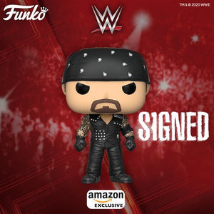 Signed WWE POP! Boneyard Undertaker Figure