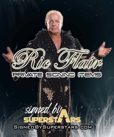 Ric Flair Private Signing Items