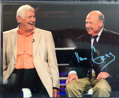 Mean Gene Signed Photo