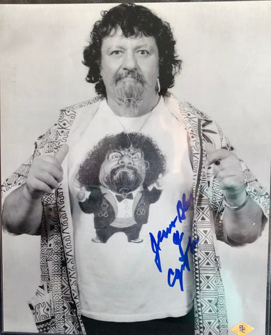 Capt. Lou Albano Signed Photo