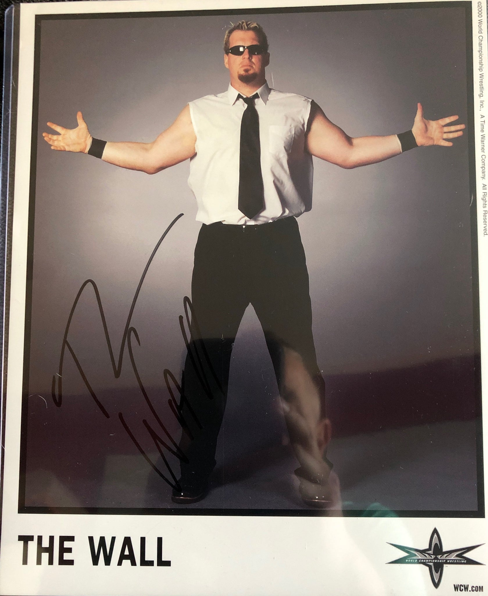The Wall Signed Promo Photo