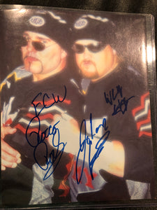 "Public Enemy Dual Signed 4x6"" Original Photo"