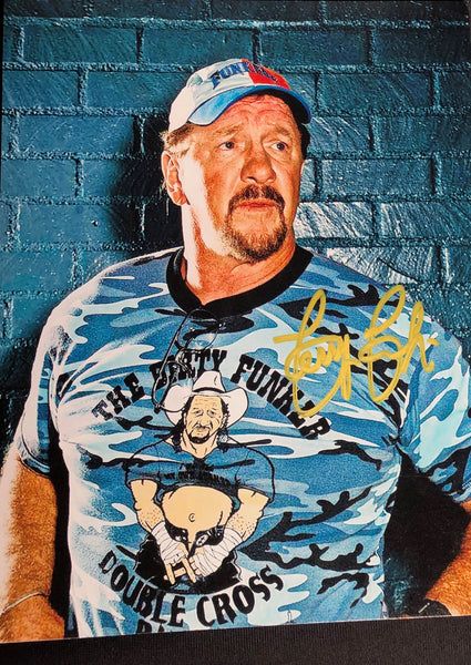 Terry Funk Signed Autographs