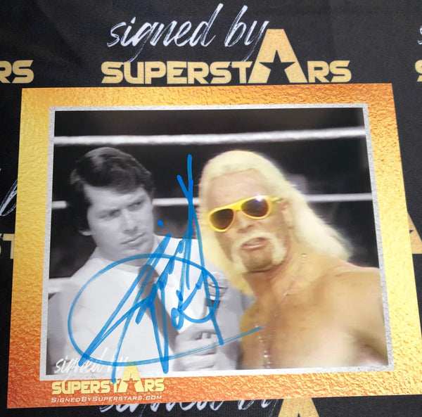 Jimmy Valiant Signed Autographs