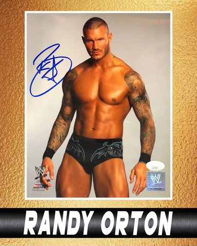 Randy Orton Signed Autographs
