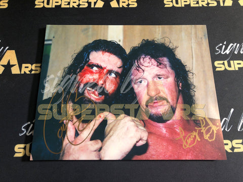 Cactus Jack & Terry Funk dual Photo