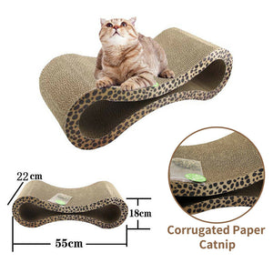 Cat Scratch Sofa Couch Post Corner Scratcher Toys Bed Pet Claw Resistant Pillow