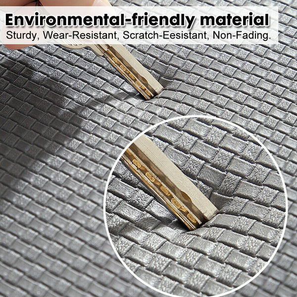 Home Non-slip Kitchen Mat Waterproof Oil-proof PU Leather Anti-Pad