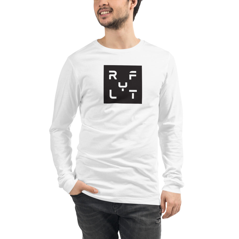 Men's Boxed Logo Long Sleeve Tee