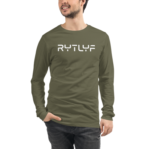 Men's Travel Logo Long Sleeve Tee