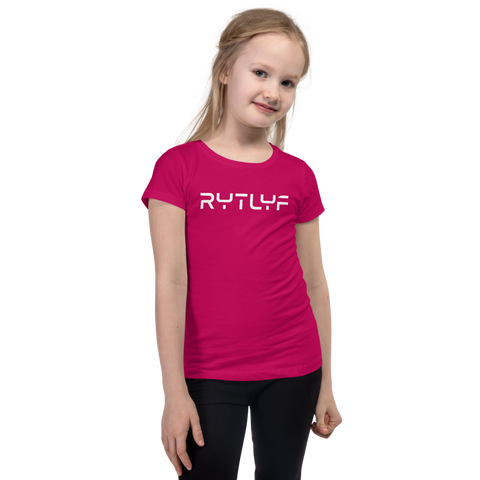 Girl's Travel Logo Slim-Fit T-Shirt