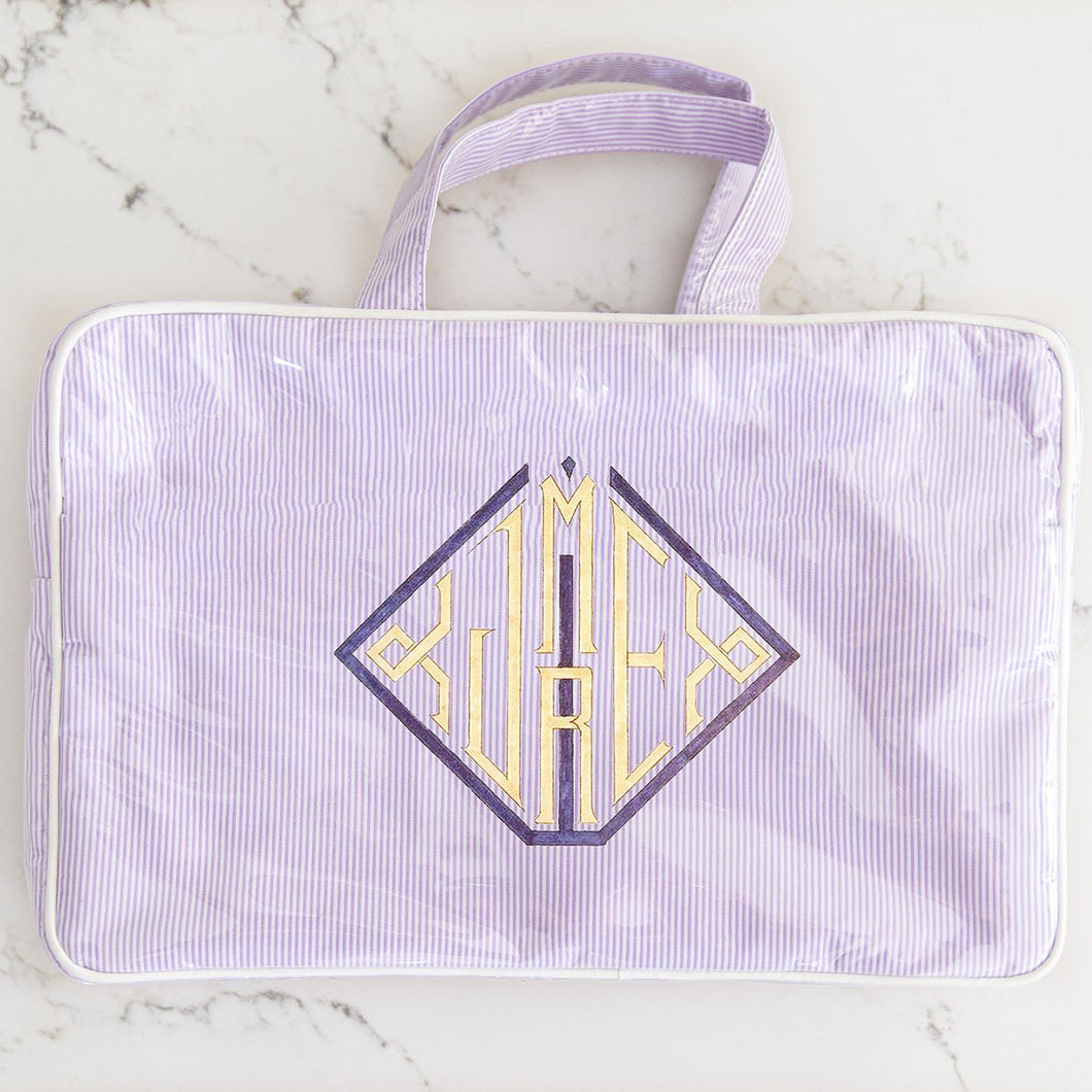 Alice Cosmetic Case With Handles - Waterproofed