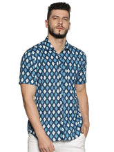 Load image into Gallery viewer, Tusok-Vacation-Printed Shirtimage-BlueGeometric (1)