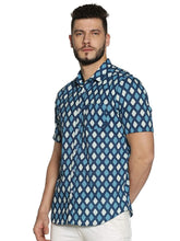 Load image into Gallery viewer, Tusok-Vacation-Printed Shirtimage-BlueGeometric (2)