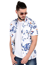 Load image into Gallery viewer, Tusok Goa Hawaiian White Floral Shirt