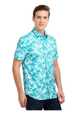 Load image into Gallery viewer, Tusok-alaskaVacation-Printed Shirtimage-Blue Zigzag (3)