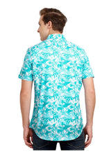 Load image into Gallery viewer, Tusok-alaskaVacation-Printed Shirtimage-Blue Zigzag (4)