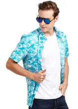 Load image into Gallery viewer, Tusok-alaskaVacation-Printed Shirtimage-Blue Zigzag (7)