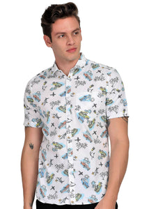 Tusok-aquaFeatured Shirt, Vacation-Printed Shirtimage-Aqua (1)