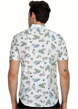 Load image into Gallery viewer, Tusok-aquaFeatured Shirt, Vacation-Printed Shirtimage-Aqua (4)