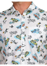 Load image into Gallery viewer, Tusok-aquaFeatured Shirt, Vacation-Printed Shirtimage-Aqua (5)