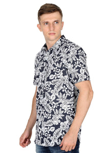 Tusok-black-magicVacation-Printed Shirtimage-Black Roop Floral (2)